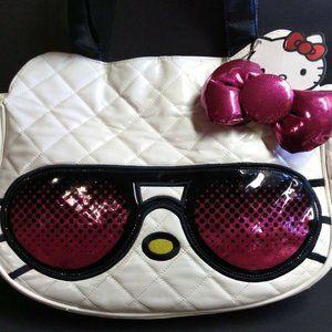 Hello Kitty Loungefly Black Glasses Bow Sanrio